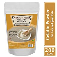 Nature's Secret Gelatine Powder - 200 Gm
