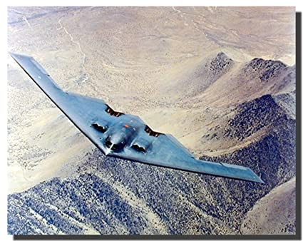 Wall Decor Northrop Grumman B-2 Spirit Aviation Bomber Art Print Poster (16x20)