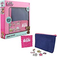 L.O.L. Surprise ! Borsetta Bambina da Decorare con Toppe Patch Fashion Bambole Lol Confetti Pop