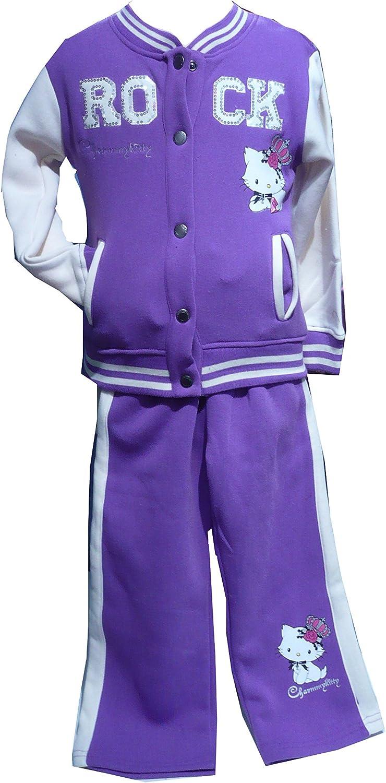 Chándal para niña Hello Kitty Charmmy Kitty, Color Crema y púrpura ...