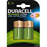 Duracell HR14 Recharge Ultra Type C Batteries, 3000 mAh, Pack of 2