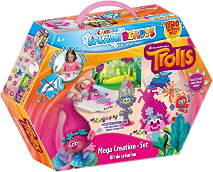 Amazon.com: CRAZE 56869 Mega Splash Beadys Creation Set ...