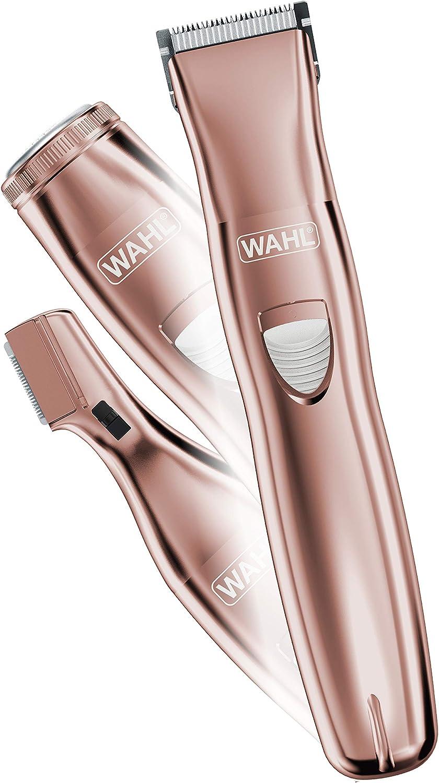 Wahl Pure Confidence - Maquinilla de afeitar eléctrica recargable, recortadora, afeitadora y peluquero para mujeres ...