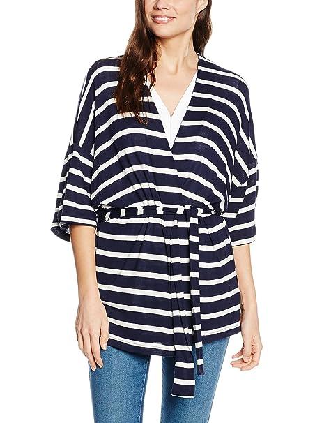 Kimono Cortefiel Navyécru S Abbigliamento Amazon Blu it 0qdZdz