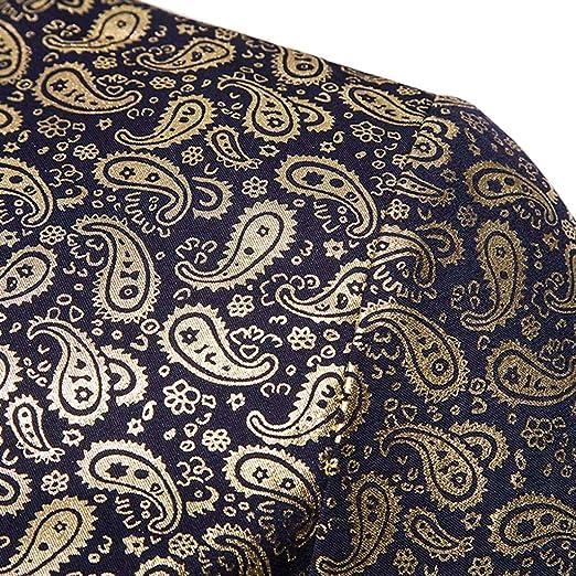 SoonerQuicker Camisa de Hombre Camiseta Holgada con Cuello Redondo ...