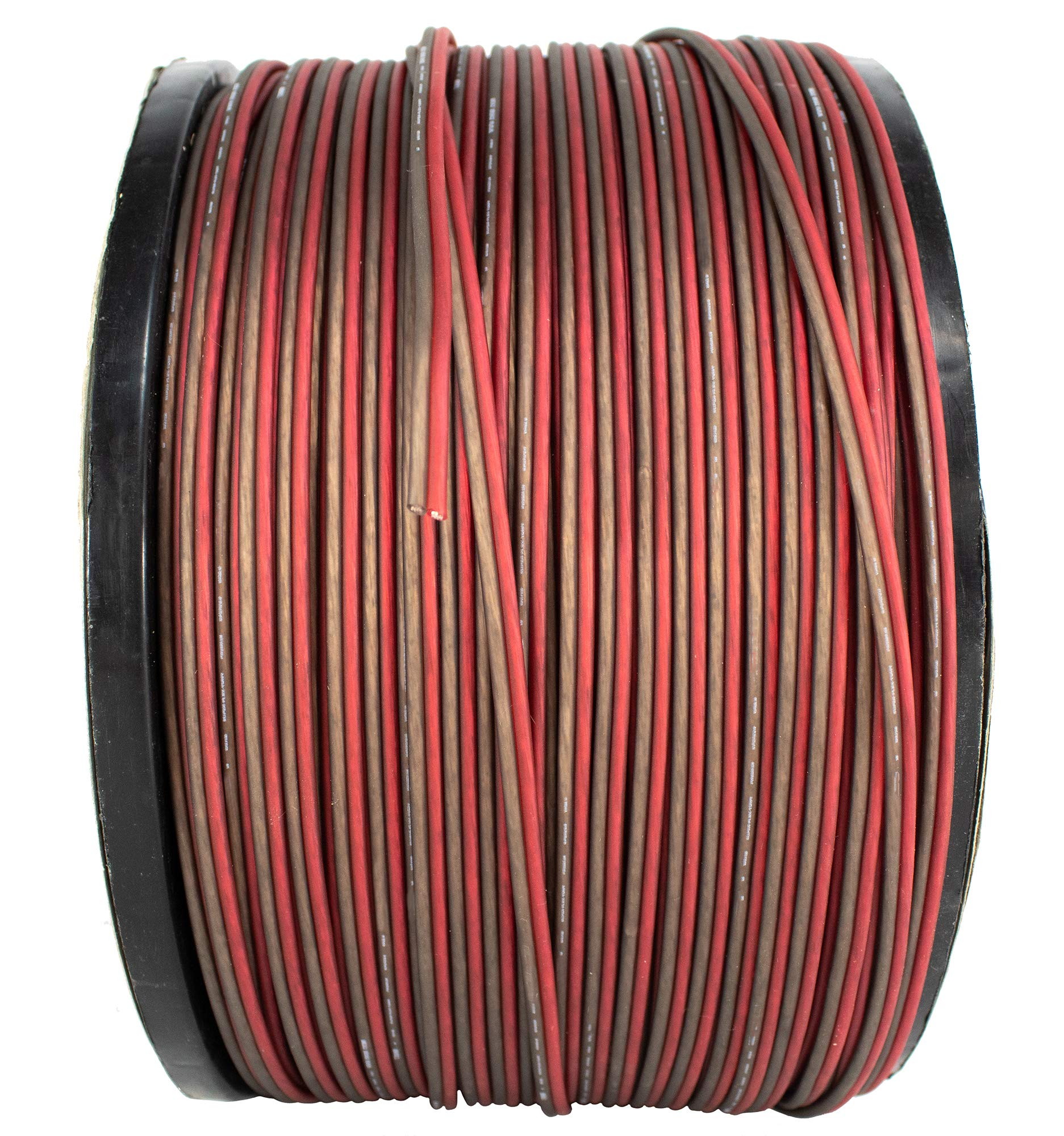 16 AWG 1000FT Red Black Speaker Wire Cable Copper Mix True AWG GA Ultra Flex
