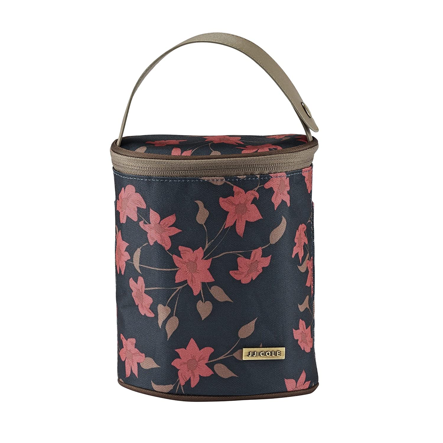 JJ Cole Bottle Cooler, Navy Floral Tomy J01204