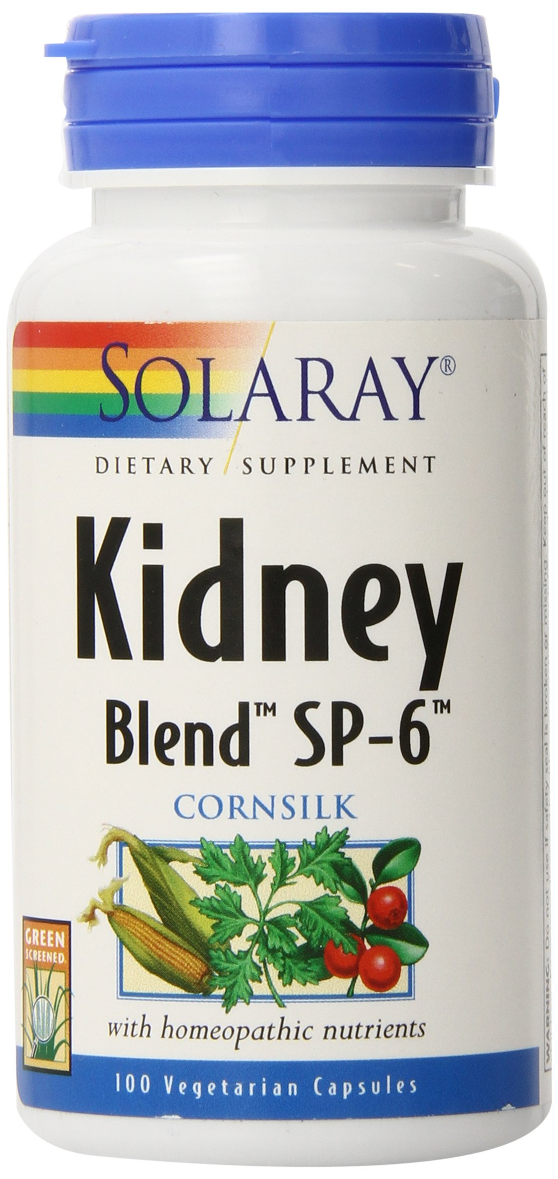 Solaray Kidney Blend SP-6 | Herbal Blend w/Cell Salt Nutrients to Help Support Healthy Kidney Function | Non-GMO, Vegan…