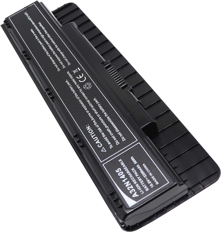 Golem-power 10.8 V 5200 mAh A32N1405 bater/ía compatible con ASUS G551JK G551JX GL551JM GL551JW G771JM G771JW GL771JM GL771JW N551JB N551JW N551Z N751JK