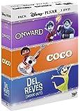 Colección Disney Pixar: Onward + Coco + Del Revés (Inside Out) [DVD]