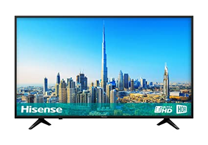 16c2a407a61b Hisense H65A6200UK 65-Inch 4K Ultra HD Smart TV - Black: Amazon.co ...