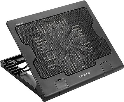 Tacens 4ABACUS, base refrigeración para portátil, ventilador 18 cm ...