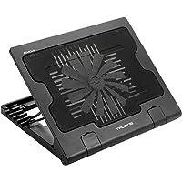 Tacens 4ABACUS, base refrigeración para portátil, ventilador 18 cm, 17 pulgadas