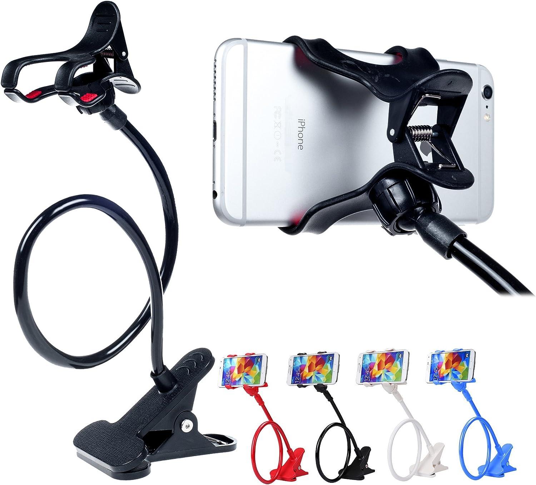 Soporte de abrazadera,universal para teléfono celular -Negro