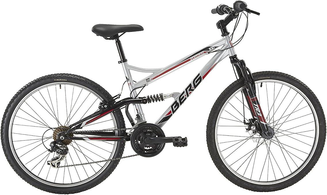Berg Bikes Bicicleta Montaña Gris M: Amazon.es: Deportes y aire libre