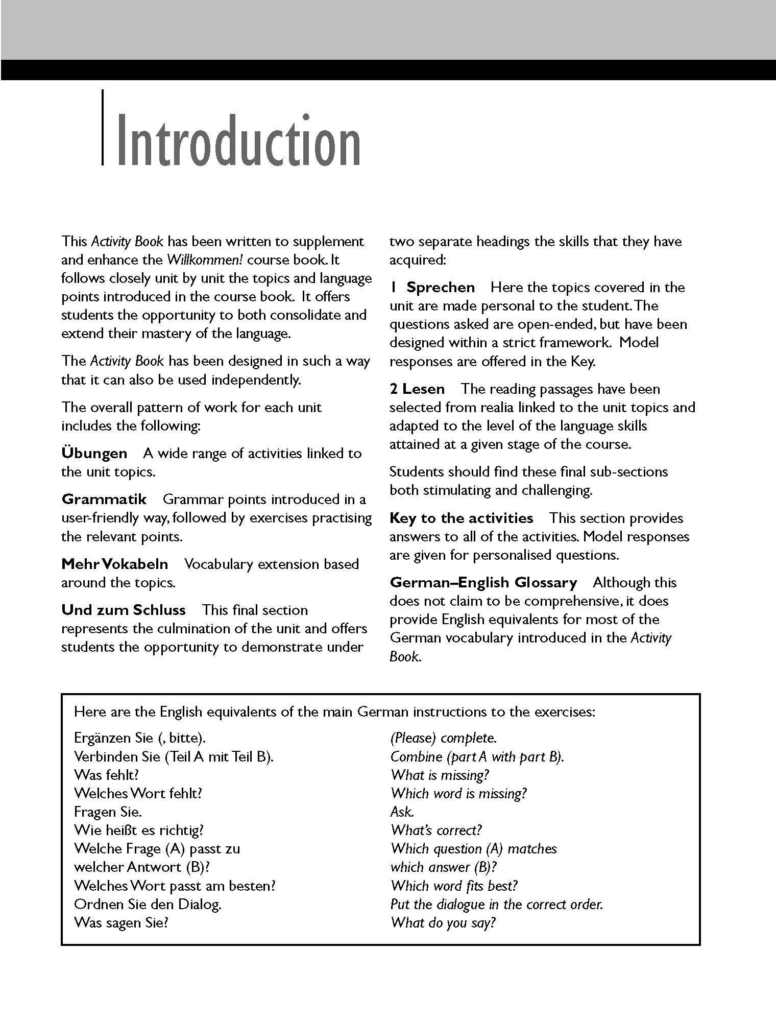 Willkommen! German Beginner's Course 2ED Revised: Activity Book:  Amazon.co.uk: Paul Coggle, Heiner Schenke: 9781444165180: Books