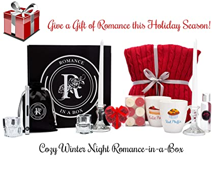 Romantic Christmas Gifts For Her Couples Winter Romance In A Box