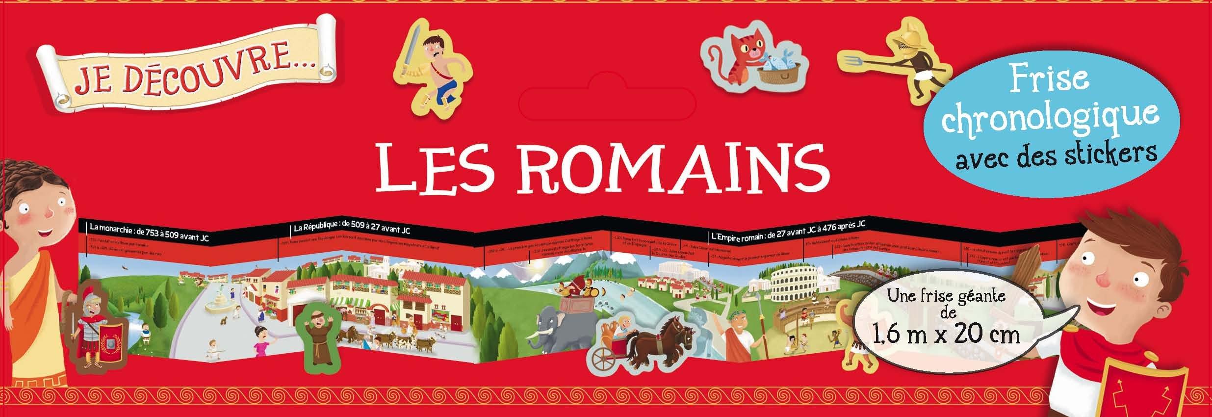 Je découvre les romains : frise chronologique avec des stickers Relié – 11 mars 2016 Joshua George 1.2.3. Soleil ! 2359901710 Jeunesse