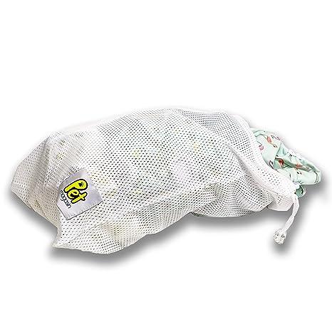 Bolsa de lavandería para mascotas para lavadora, malla robusta con ...