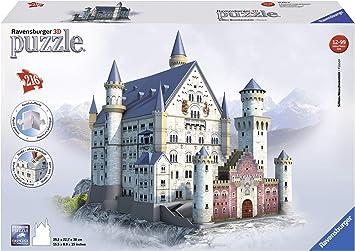 Ravensburger - 3D Puzzle Building Castillo de Neuschwanstein (12573 9): Amazon.es: Juguetes y juegos