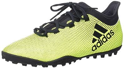 buy popular aaf79 c5813 adidas Herren X Tango 17.3 Tf Fußballschuhe, Weiß, Gelb (Amasol  Tinley