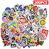 LUDILO 200pcs Stickers Vinyl Laptop Stickers