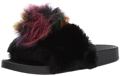55b7adb3ada95 Amazon.com | Steve Madden Women's Spiral Slide Sandal | Flip-Flops