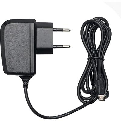 Slabo Cargador Red Micro USB - 1000mA - para Amazon Fire 7-Tablet   Kindle Paperwhite Cargador rápido de Viaje para el móvil - Negro