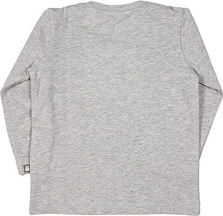 Graumelange Miffy Jungen T-Shirt Lang Arm Gr/ö/ße 62