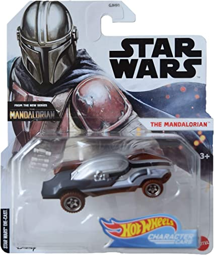 Character Cars Star Wars Hotwheels Heavy Infantry Mandalorian