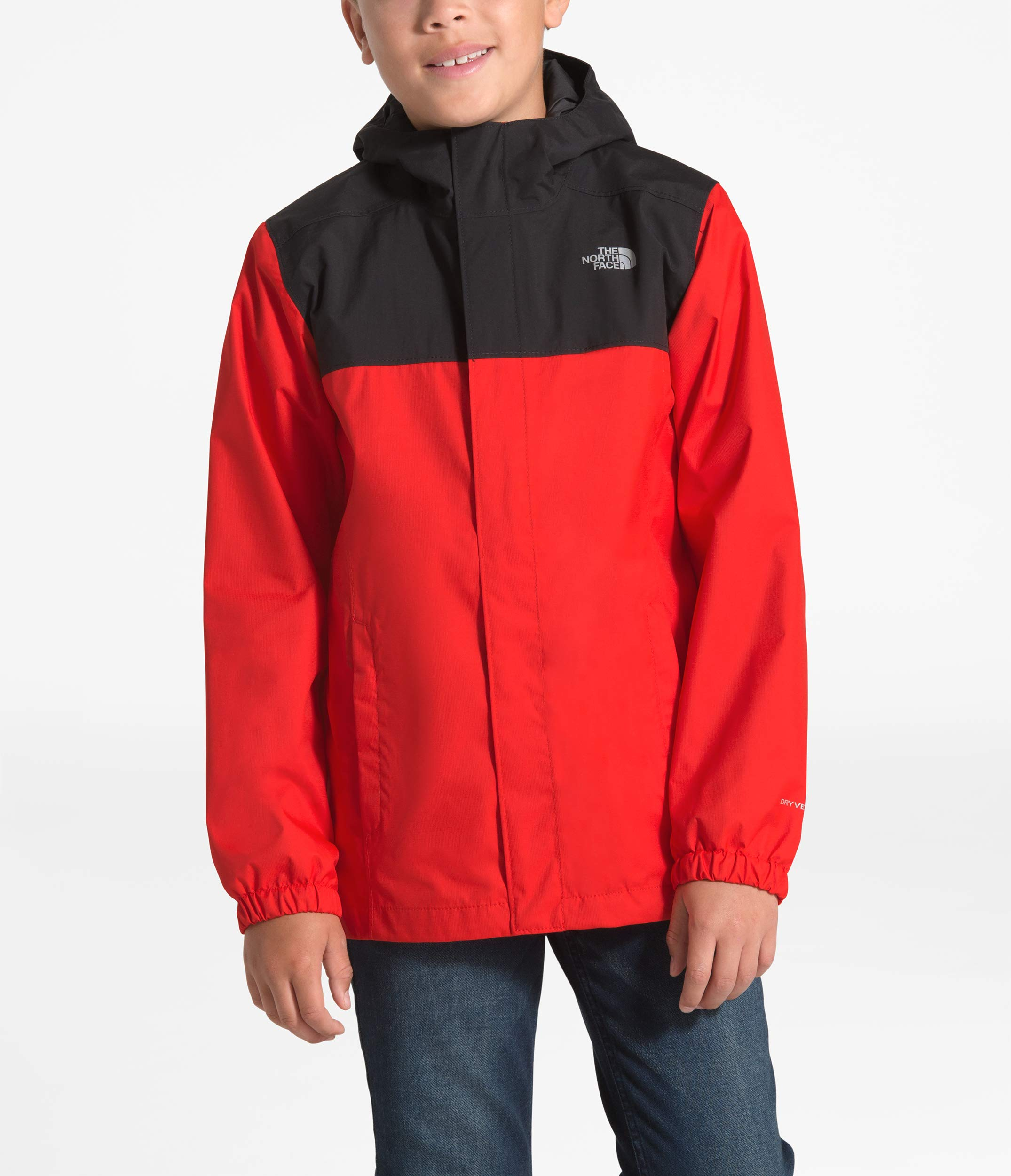 The North Face Kids Boy's Resolve Reflective Jacket (Little Kids/Big Kids) Fiery Red XX-Small by The North Face