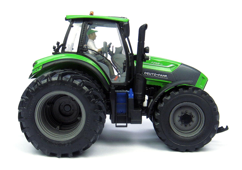 Deutz Fahr Agrotron Ttv 7250 Trattore 6 Ruote Con Conducente Figura