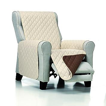JM Textil Cubre Sillón Estándar/Relax/Orejero Acolchado ...