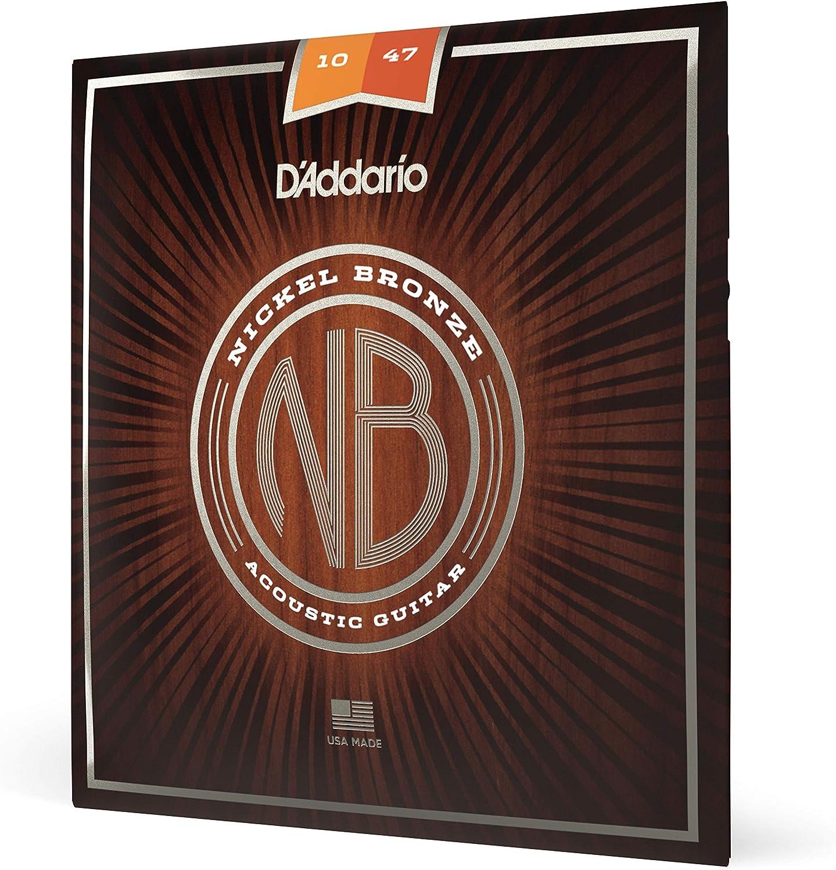 D'Addario NB1047 - Juego de cuerdas acústicas