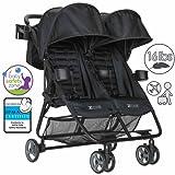 ZOE XL2 BEST v1 Double Stroller (Black)