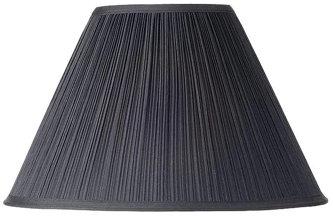 Amazon.com: Negro Seta Pleated lámpara de techo, 7 x 17 x11 ...