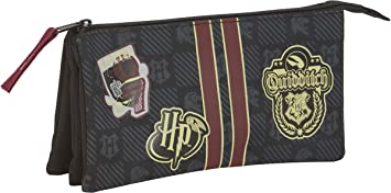 Safta Harry Potter Oficial Gryffindor Estuche Portatodo con Cremallera Ultraligero para Niños Unisex, L, Multicolor: Amazon.es: Equipaje