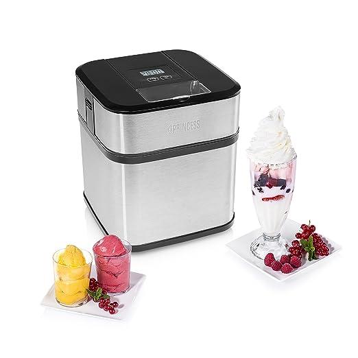 Máquina de helados Princess 282605 - Prepare helado casero ...