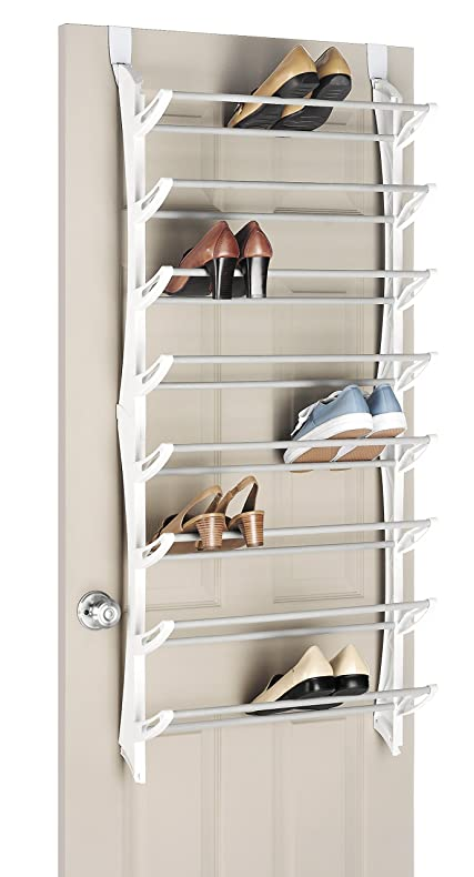 Amazon Whitmor Over The Door Shoe Rack 24
