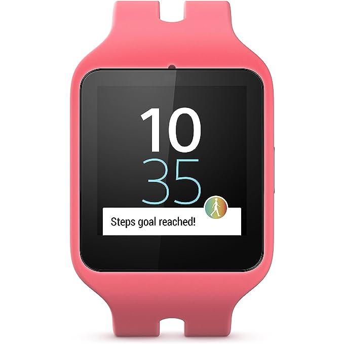Sony Mobile Smartwatch 3 Activity Tracker mit lifelog – Pink