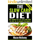 The Slow Carb Diet: My Journey Of Fat Loss And How To Lose 10-15 Pounds Per Month (slow carb, weight loss motivation, healthy