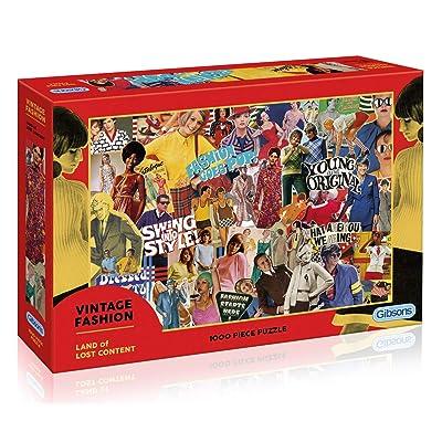 Puzzle: 1000 Vintage Fashion: Toys & Games