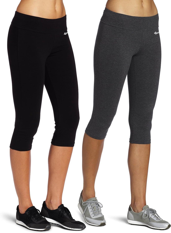 per yoga Leggings di cotone a 3//4 da donna Baomosi allenamento running