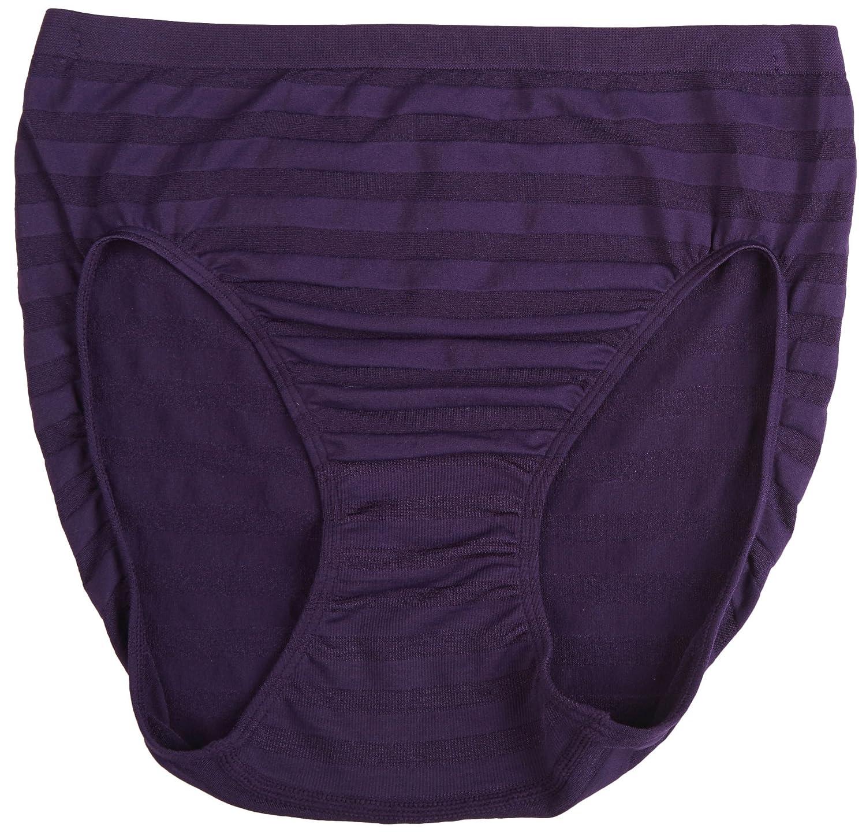 fdbc9d5b5857 Jockey Women's Underwear Matte & Shine Seamfree Hi Cut, Plum Pudding, 9:  Amazon.co.uk: Clothing