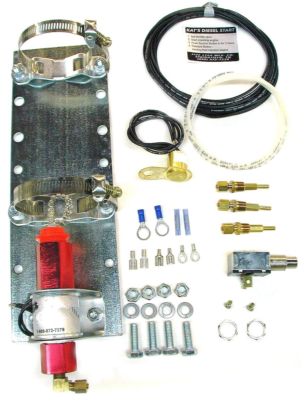 Kat's 34100 24 Volt Push Button Ether Start Kit