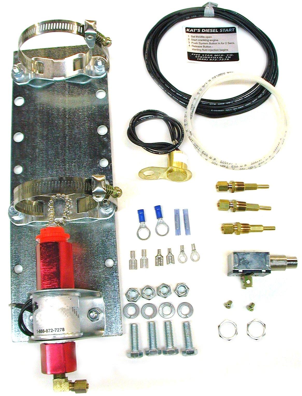 Kat's 34100 24 Volt Push Button Ether Start Kit by Kat's