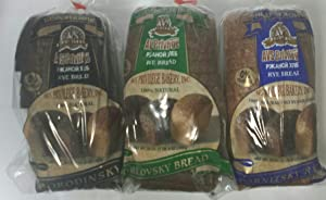 Borodinsky, Darnitsky, & Orlovsky European / Russian Bread Sampler