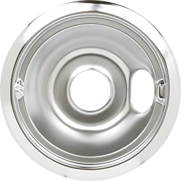 GE WB31M16 GE Kenmore Stove 6 Inch Chrome Burner Bowl Drip Pan PS244371