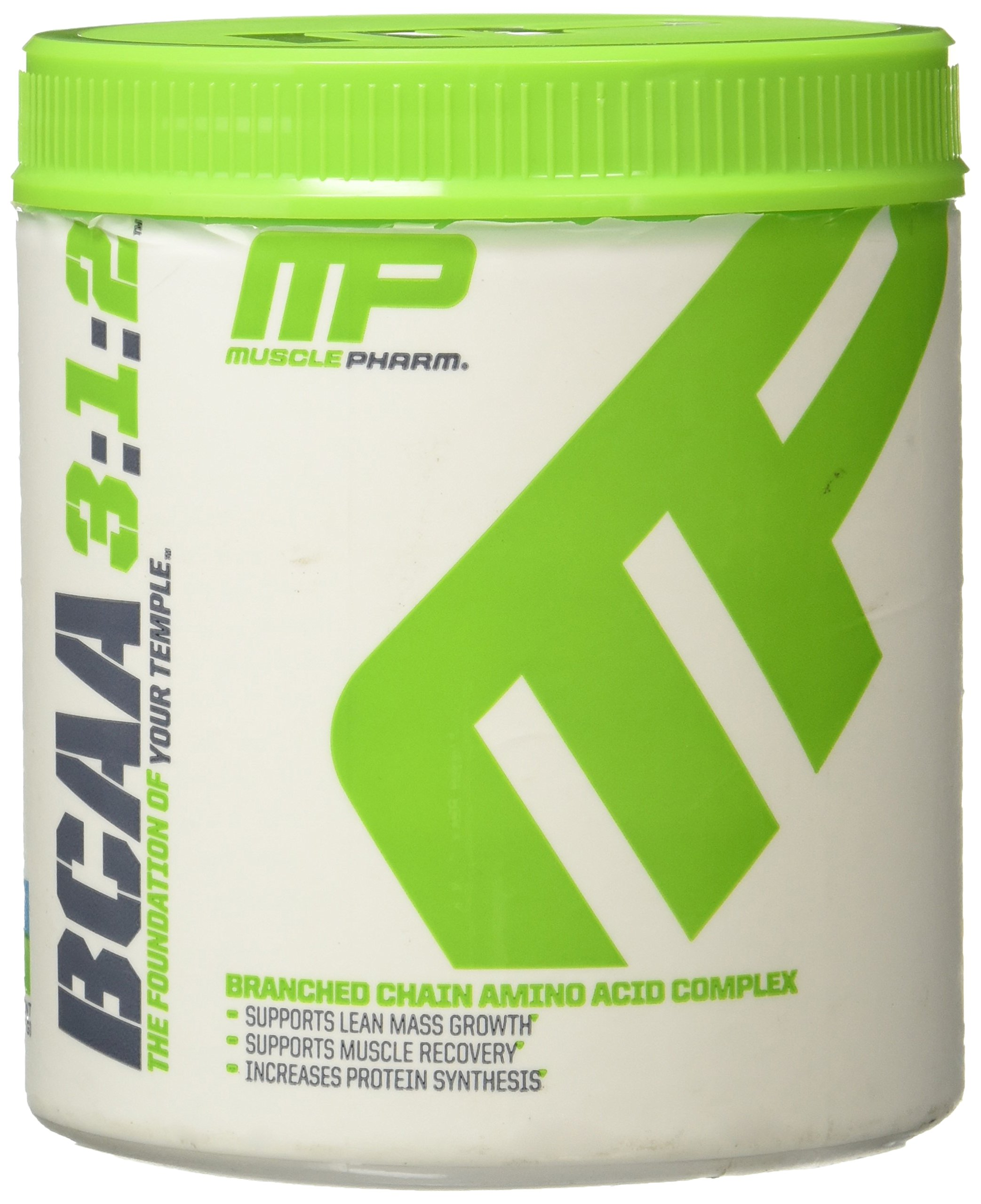 MP Essentials BCAA Powder, 6 Grams of BCAAs Amino Acids, Post Workout Recovery Drink for Muscle Recovery and Muscle Building, MusclePharm, Blue Raspberry, 30 Servings