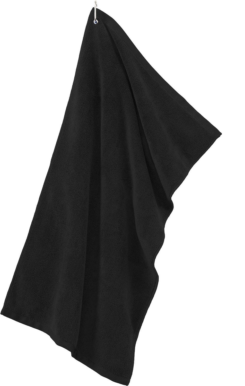 Joe's USA APPAREL メンズ Package of 3 Towels ブラック B00RJ26XX0